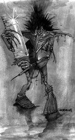 Créatures fantastiques, mythiques et imaginaires n°2 : Le croque mitaine ( Boogeyman )