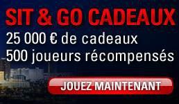 SIT & GO CADEAUX