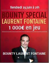 Bounty Fontaine vendredi 29 Juin