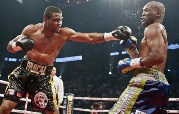 La boxe, toute une passion.