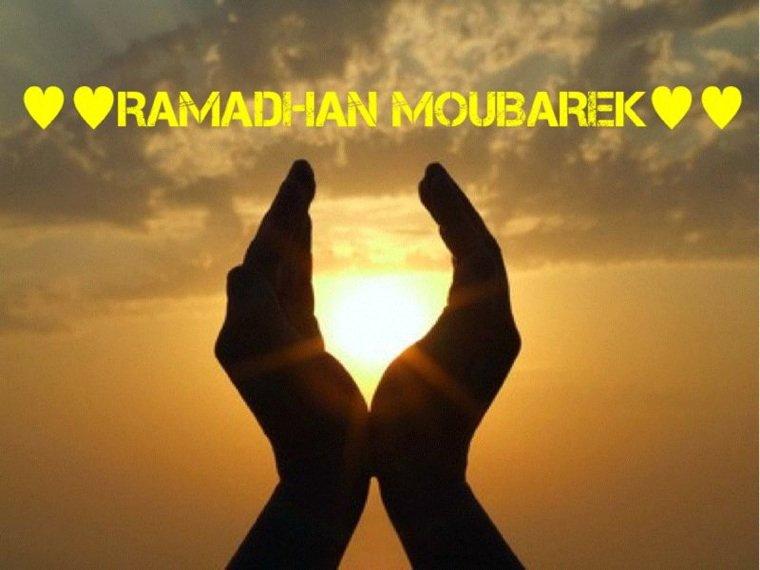Ramadhan Mubaraak !