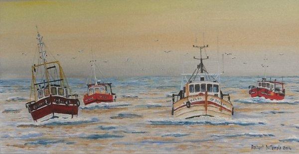Retour de pêche Guilvinec