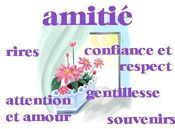 REFLECHISSEZ AVANT DE ME DEMANDER EN AMIE *