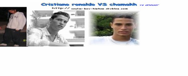 mOiii vs cristiano vs chamakh