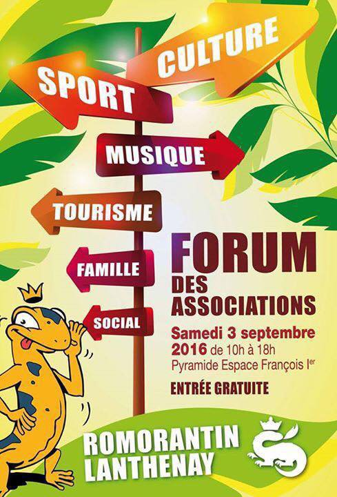 forum des associations le 3 septembre 2016