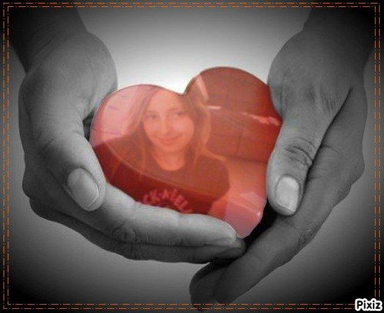 moi dans un coeur