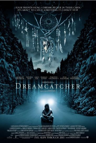 DreamCatcher by Stephen King (book) / Lawrence Kasdan (movie)