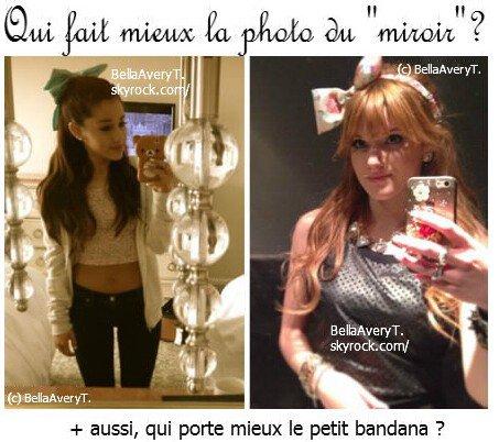 Ariana Grande & Bella Thorne