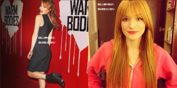 • Nouvelles photos Instagram de Bella du 31/01 et du 01/02