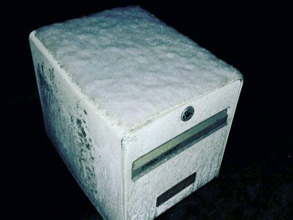 La neige arrive enfin ?❄?