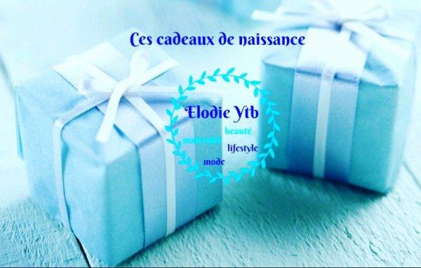 LES CADEAUX DE NAISSANCE DE BABY LENZO