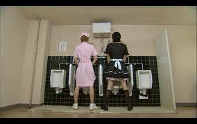 Quant on vous dit qu'il nous faut des toilettes rien que pour nous?