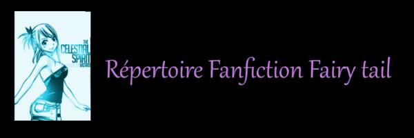 Répertoire Fanfiction Fairy tail