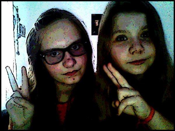 Moi et justine <3 ( 17/12/2012 )