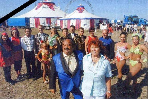 Le cirque la Piste aux Etoiles endeuillé