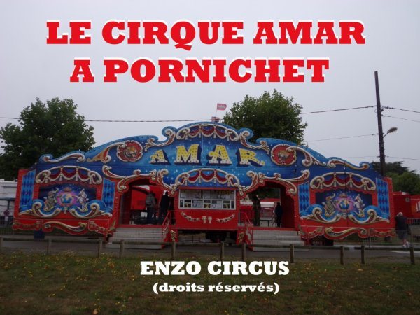 Fin du reportage sur le cirque Amar à Pornichet, avec quelques photos du montage. Désolé pour la luminosité des images, mais la météo n'était vraiment pas de la partie ce jour là...