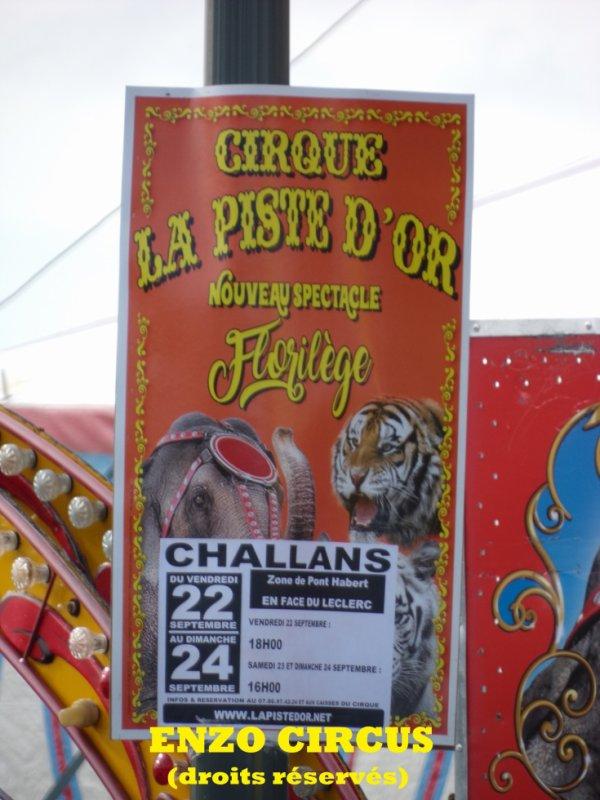 L'affiche 2017 du cirque