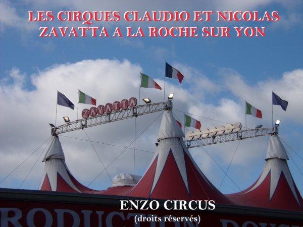 Suprise pour tous les passionnés de cirque vendéens, puisqu'au dernier moment, la famille Douchet (cirque Nicolas Zavatta) s'est associée aux Prein (cirque Claudio Zavatta) pour proposer un très beau spectacle commun. Voici la première partie du reportage consacré à cet évènement. Bonne visite...