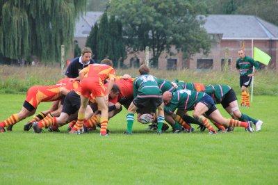 Rugby : Frameries s'impose en N1 - Péruwelz et les Collines battus
