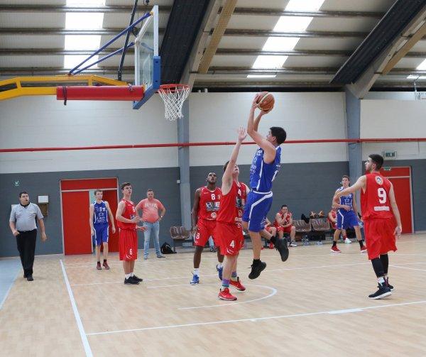 Basket P2 Messieurs - 3ème journée - BCJS Estaimpuis - REBC Templeuve A 58-72