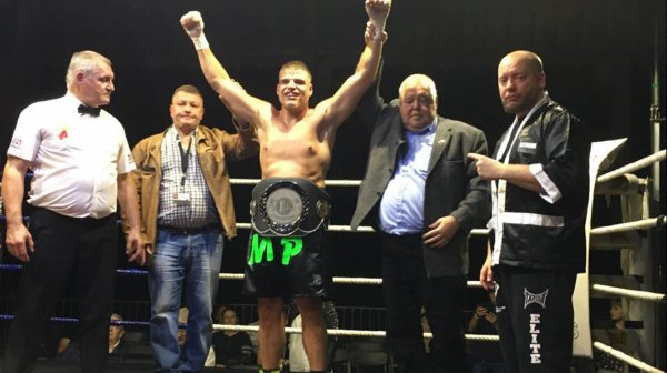 Boxe : Michaël Pareo, champion francophone