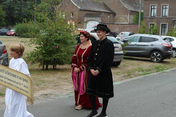 Procession du 15 août 2018- Pommeroeul - 2
