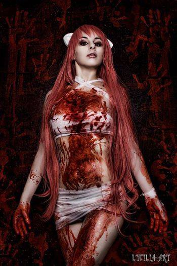 cosplay lucy elfen lied