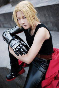 cosplay edward elric full metal alchemist
