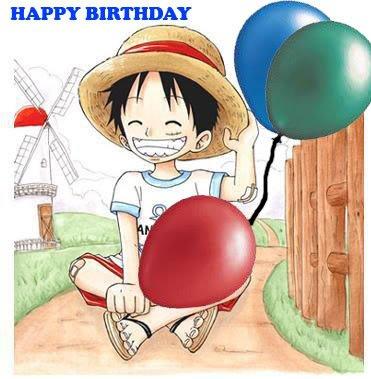 happy Birthday luffy <3