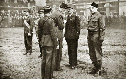 66e anniversaire de la Libération de Strasbourg par la 2e DB le 23nov 1944. Serment de Koufra tenu...