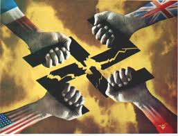 Fete de la Victoire sur l'Allemagne nazie.