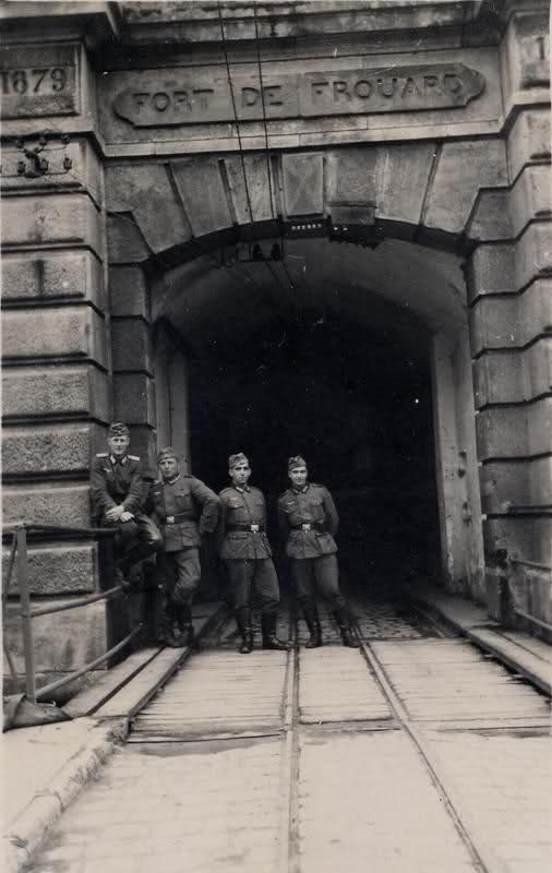 Occupation du Fort de Frouard à coté de Nancy (54)