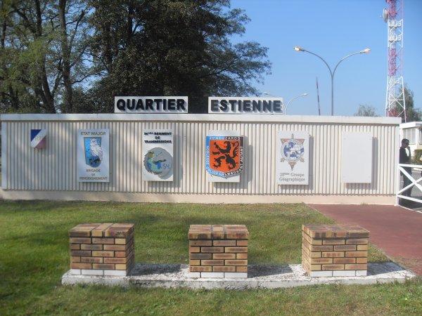 Portes ouvertes au 54 e RT à Oberhoffen(67) Pour Greg et Gerès