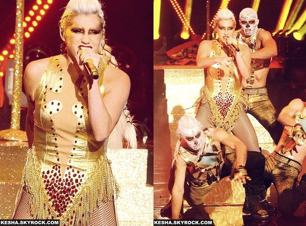 Ke$ha au Graham Norton Show - 30/11/12