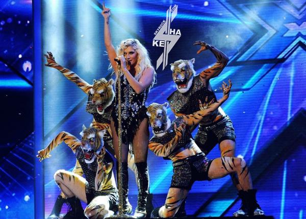 Ke$ha au X Factor Américain !