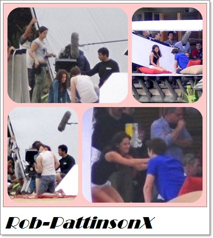 Je rattrape le retard:)Voila toutes les photos de Breaking Dawan:D