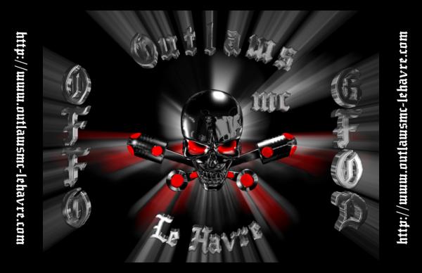 OUTLAWS MC LE HAVRE FRANCE
