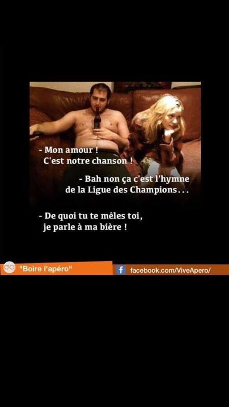 l'hymne aux champions !!..