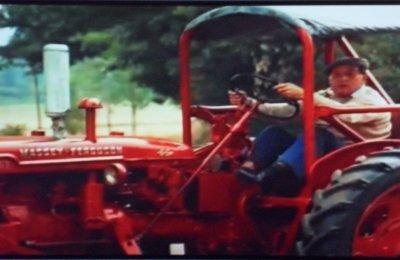 Tracteur et cinéma