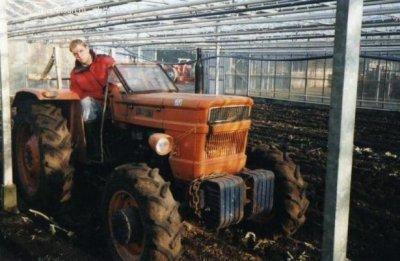 Camouflage tracteur suite ....