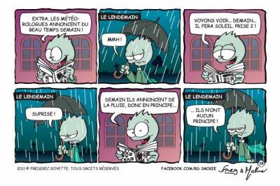 Semaine 008 - Il pleut, il pleut, bergère...
