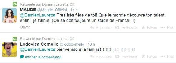 Damien Lauretta le petit français *_*