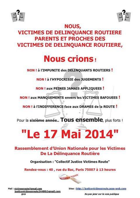 Rendez-vous le 17 mai 2014 à Paris