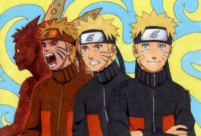Les formes de naruto on demon renard a neuf queues le - Naruto renard ...