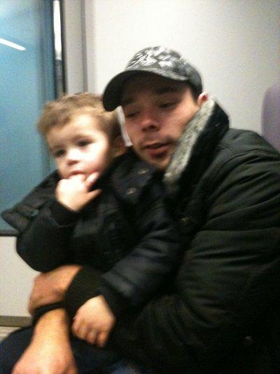 moi et mon fils que j'aime temp