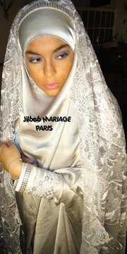 voici un genre de jilbab de marie - Jilbeb Mariage