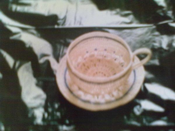tasse et soucoupe