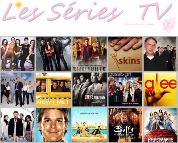 Thème de la semaine : Les séries TV