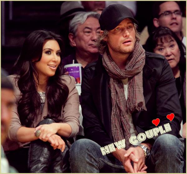Kim en couple avec Gabriel Aubry !