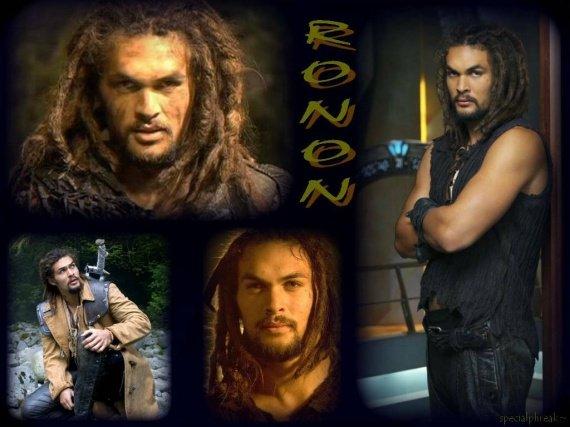 Jason Momoa Alias Ronon Dex ( Satedien )